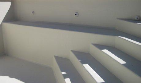 Escalier d'angle avec banquette Draguignan